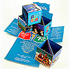 pop up cubes elasticated mailers